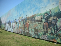 Mural at the Cherokee Trading Post