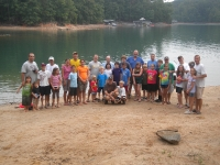 Creekside Men and their kids - July 2011