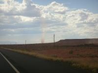 Dust Devil - about 4 miles away