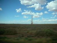 Dust Devil - about .5 miles