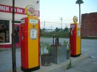 Old Gas Pumps - restored