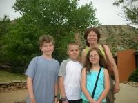 The kids and Rikki