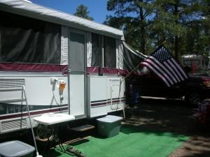 Our camper in Williams, AZ